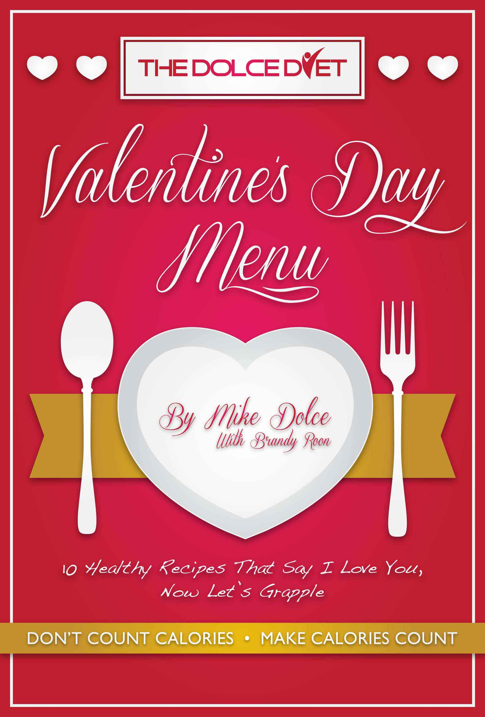 FREE ON KINDLE: THE DOLCE DIET VALENTINE'S DAY MENU! | The Dolce Diet
