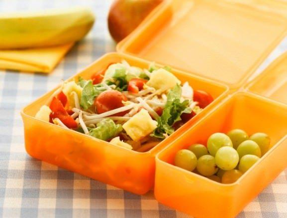 Healthy diet lunch for school