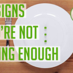 DOLCE LIFESTYLE: 10 Signs You're Not Eating Enough