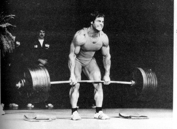 Image result for franco columbu deadlift