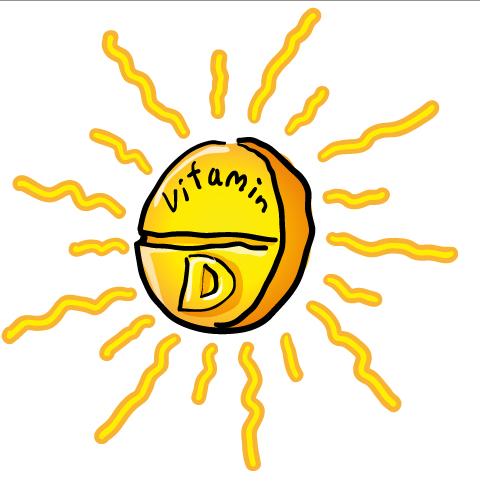 vitamins in sunlight