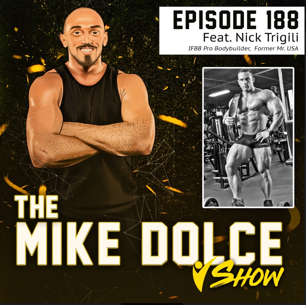 THE MIKE DOLCE SHOW: Ep. 188  IFBB Pro Nick Trigili Opens Up On Drug Use