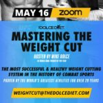"""MASTERING THE WEIGHT CUT"" Seminar Hosted by Mike Dolce Announced"